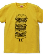 Hamburger with legs