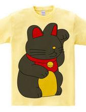 Happy cat black