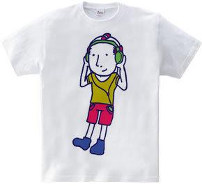 Headphones Boy