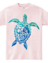 Tribal Honu (Hawaiian Ocean Color)