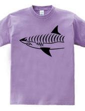サメ 両面プリント