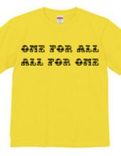 一人は万人のために、万人は一人のために