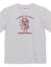 バスケがしたいです。ゾンビですけどもね。