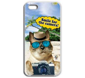 Cat cameraスマホケース