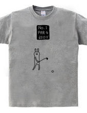 ゴルフ パー4
