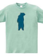 Zooシャツ 森のくまさん #2