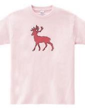 Zooシャツ たしか、あれはシカ  #2