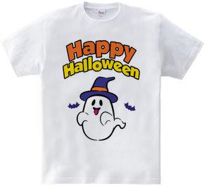 Happy Halloween ghost 01