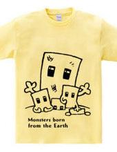 地球からモンスター