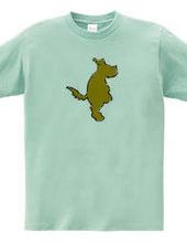 Zooシャツ|たたずむ犬。#2