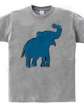 Zoo-Shirt | Jolly-looking elephant #2