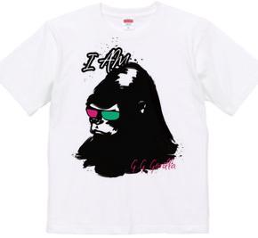 G.G gorilla Tシャツ