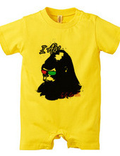 G.G Gorilla Rompers(For Baby) &Cotto