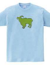 Zoo-Shirt   Gentle goat #2