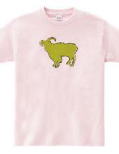 Zooシャツ やさしいヤギ  #2