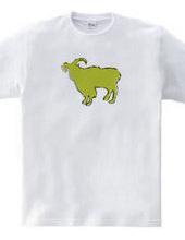 Zooシャツ|やさしいヤギ  #2