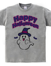 Happy Halloween ghost 02