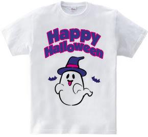 Happy Halloween ghost 02