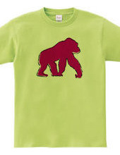 Zooシャツ ゴリラなのだ #2