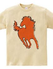 Zooシャツ 馬、駆ける  #2