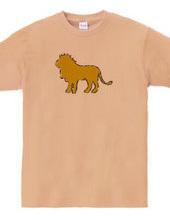 Zooシャツ|百獣の王、堂々たる  #2