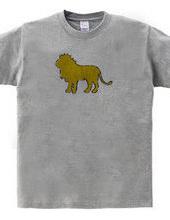 Zooシャツ 百獣の王、堂々たる  #2