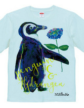 Hydrangea and Penguin T