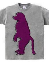Zooシャツ|さる、何かを待つ  #2