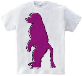 Zooシャツ さる、何かを待つ  #2
