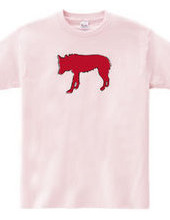 Zoo-Shirt | A solitary wolf  #2