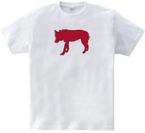 Zooシャツ 孤高の狼  #2