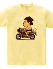Sumo wrestlers - bike