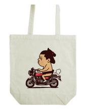 お相撲さん-バイク