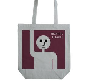 人と手をつなぐバッグ