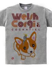 コーギー犬のオカメインコちゃん乗せ 2018