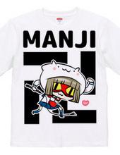 猫ずきんちゃんの卍Tシャツ