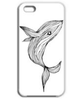 飛び上がるクジラ