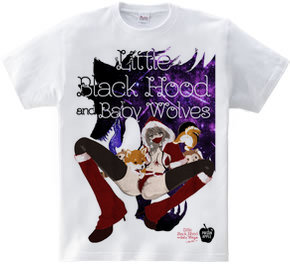 Little Black Hood 黒頭巾ちゃんがまだ赤ずきんで、狼が柴犬だった