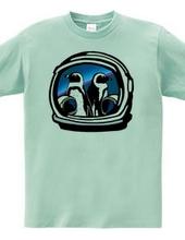 Cape Penguin meets astronauts