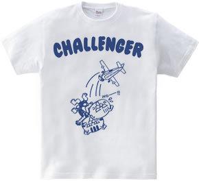 チャレンジャー&グッドラック 「ネコスカイダイビング」