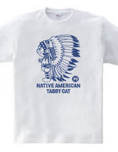 Native American cat vintage