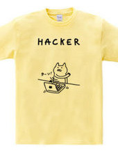 ハッカーなネコ