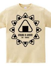 ONIGIRI is OISHII! (Triangle)