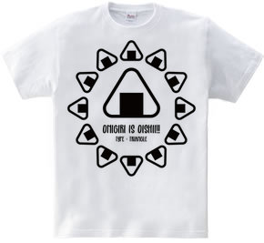 ONIGIRI is OISHII!!(三角)