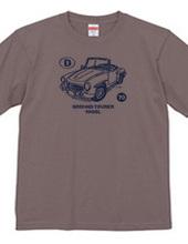 デフォルメ ベンツ 190SL グラウンドトゥーラー ビンテージ かすれ柄