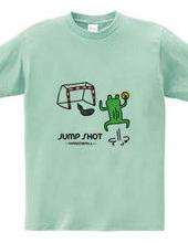 ハンドボール カエルのジャンプシュート