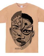 African makeup NUBA /DESIGN : 001
