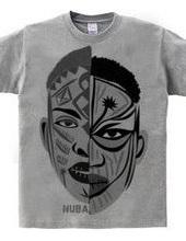 African makeup NUBA/design: 001