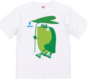 雨宿り雨蛙
