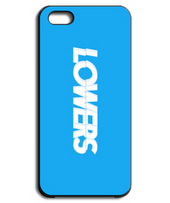 LOWERS BOX LOGO blue